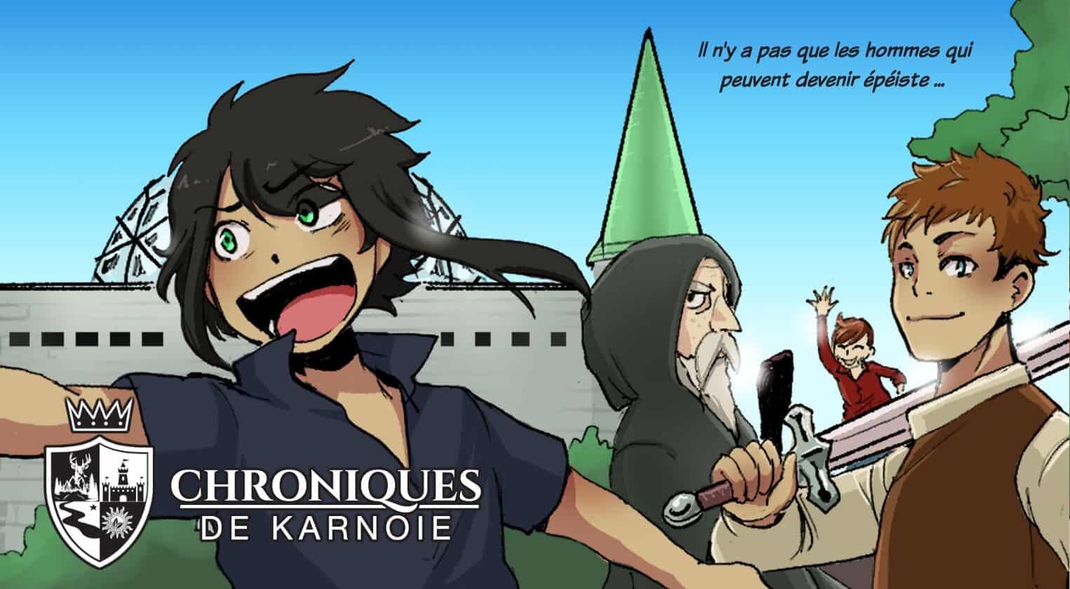 les-chroniques-de-karnoie - scan gratuit manga en ligne manga scan gratuit bayday
